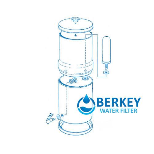 Royal Berkey Filters 3 25 Gallons
